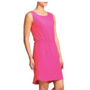 Athleta Astra hot pink sheath dress